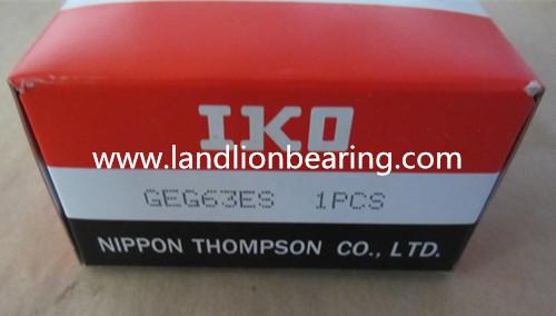 GEG60ES Radial spherical plain bearings 60*90*60mm