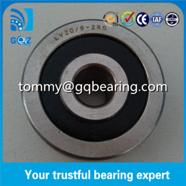 LV202-41.2RS V type Groove Track Roller Bearing 15x41x20mm