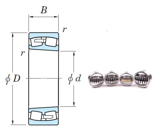 240/500RK30 Spherical Roller Bearings 500*720*218mm