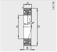 FAG HCS7010-C-T-P4S Bearing