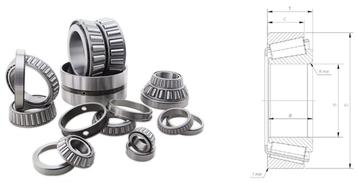 3980/3920 Tapered Roller Bearing
