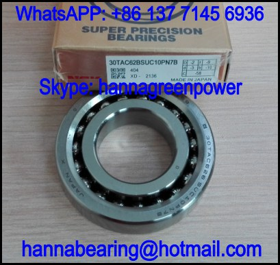 17TAC47BSUC10PN7A Angular Contact Thrust Ball Bearing 17x47x15mm