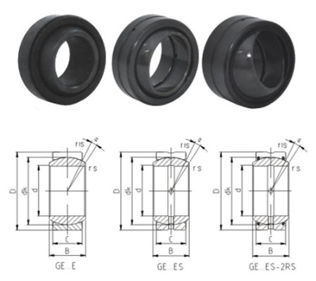 spherical plain bearing GEG90ES