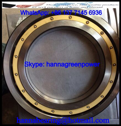 6220M Brass Cage Deep Groove Ball Bearing 100x180x34mm