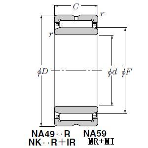 MR12415448+MI-10412448 bearing