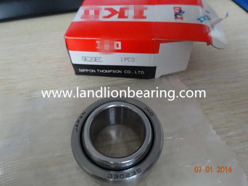 GE20EC Radial spherical plain bearings 20*35*16mm