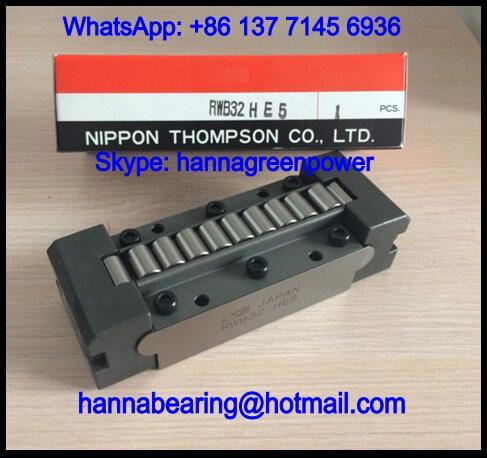 RWB24UUSPB6 Linear Roller Bearing / Roller Way 38.1x100x28.575mm