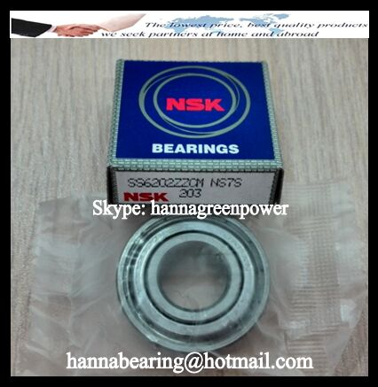 SS6202 Stainless Steel Ball Bearing 15x35x11mm