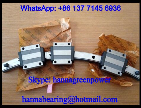 HCR35A1UU+60/1000R Curved Linear Guide Rail Block 34x100x48mm