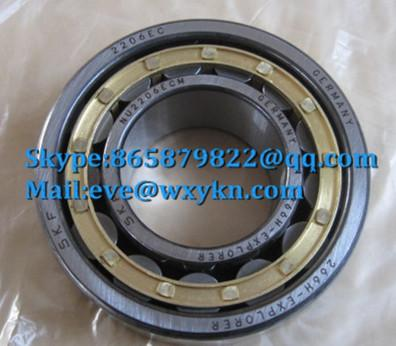 NU2206ECM bearing 30x62x20mm