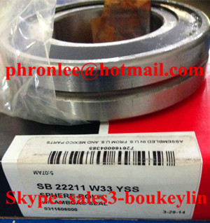 SB 22207 KW33YSS Spherical Roller Bearing 35x72x23mm