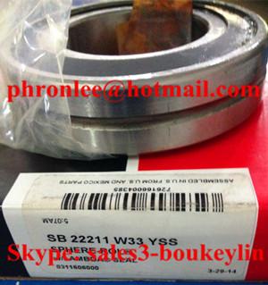 SB 22220 KW33YSS Spherical Roller Bearing 100x180x46mm