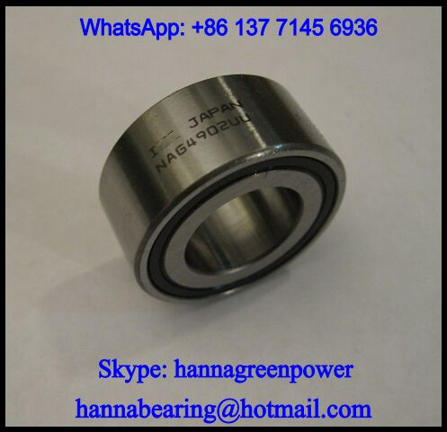 NAG4904 Full Complement Needle Roller Bearing 20x37x17mm