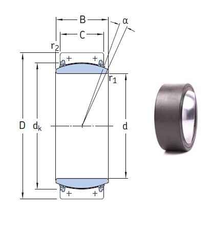 GEC 530 TXA-2RS bearings Manufacturer, Pictures, Parameters, Price, Inventory status.