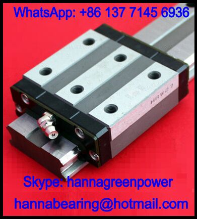 HRW35CR Linear Guide Block / Linear Motion Bearing 35x100x106.6mm