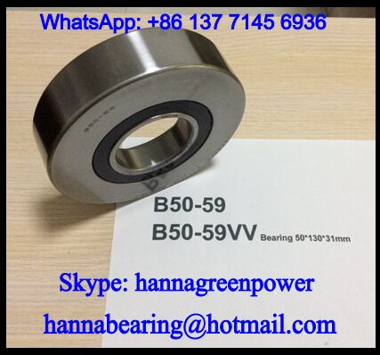 B50-59VV Automotive Deep Groove Ball Bearing 50x130x31mm