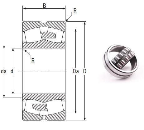 the most novel spherical roller bearing 231/560YMB 560*920*280mm