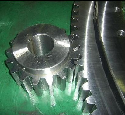 91-32 1455/1-06165 Four-point Contact Ball Slewing Bearing With External Gear