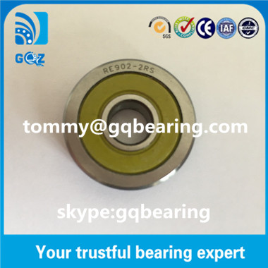 RE704ZZ Track Rollers with one beveling profile Journal Bearing