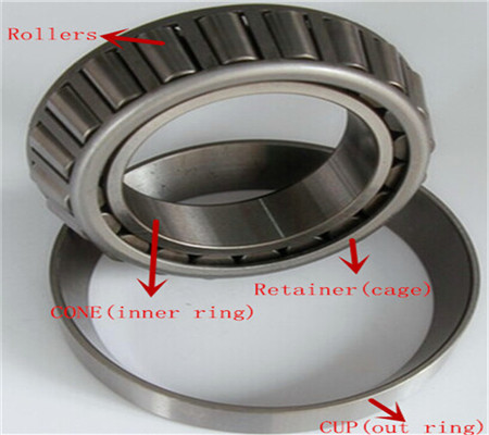 30211 J2/Q tapered roller bearing 55mmx100mmx22.75mm