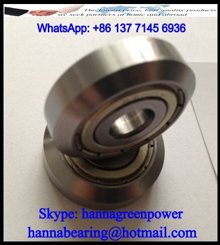 RE703 Guide Track Roller Bearing 10x34x9mm