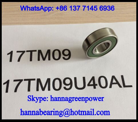 17TM09 Automobile Deep Groove Ball Bearing 17*39*11.18mm
