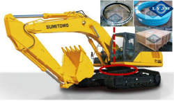 Komatsu PC200-8 1080*1321*98mm slewing bearing