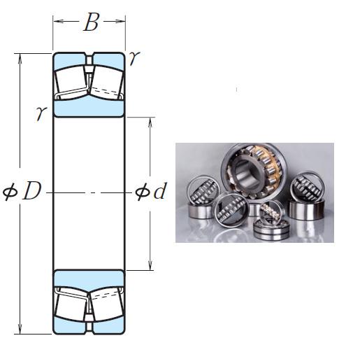 24084CAE4 Spherical Roller Bearings 420*620*200mm