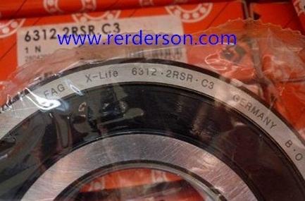 6312.2RSR bearing 60x130x31