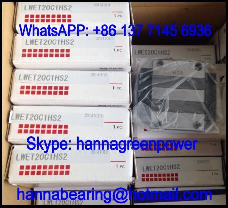 LWET45C1HS2 Linear Guide Block / Linear Way 120x125x60mm