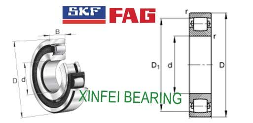 20311 Barrel roller bearings 55X120X29mm