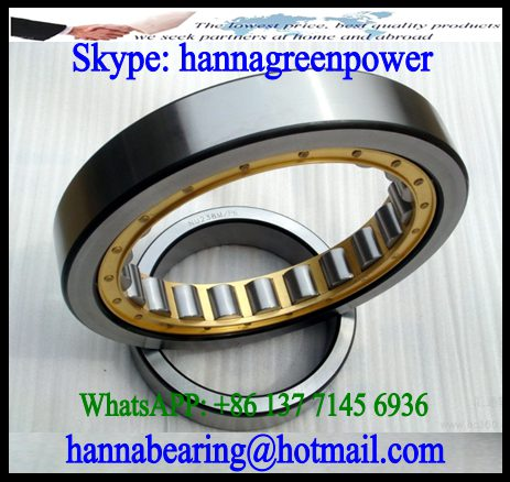 NU1072-M1 Brass Cage Cylindrical Roller Bearing 380x560x82mm