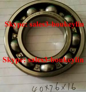 DG407616 Deep Groove Ball Bearing 40x76x16mm