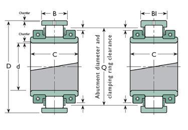 100B85MGR bearing