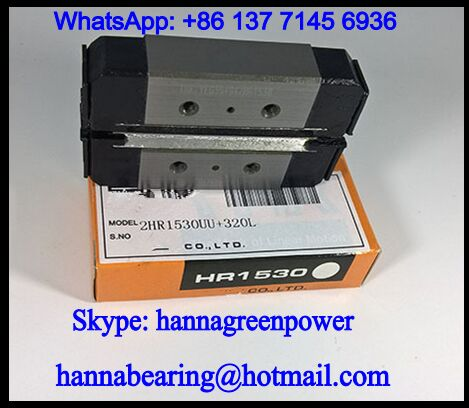 HR1123UUM Split Type Linear Guide Block 13.7x52x11mm