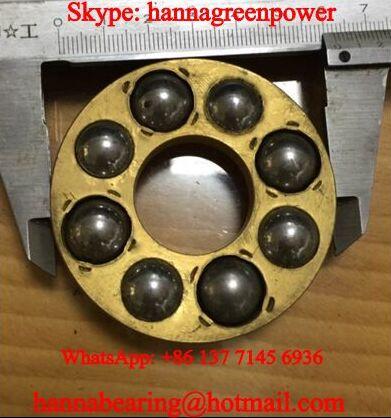 225147M Brass Cage Marine Oil Separator Bearing 22x58x29.8mm