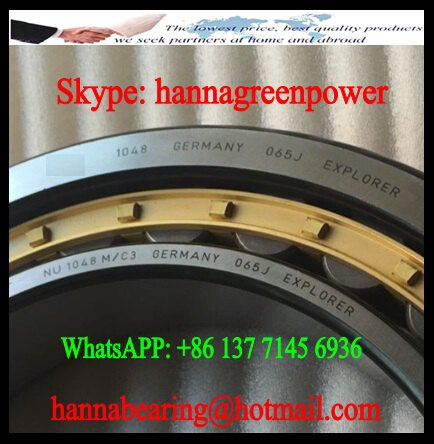 NU 1048 M Cylindrical Roller Bearing 240x360x56mm