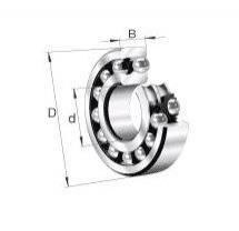FAG NU428 bearing