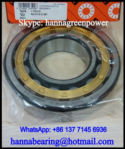 NUP308M Cylindrical Roller Bearing 40x90x23mm