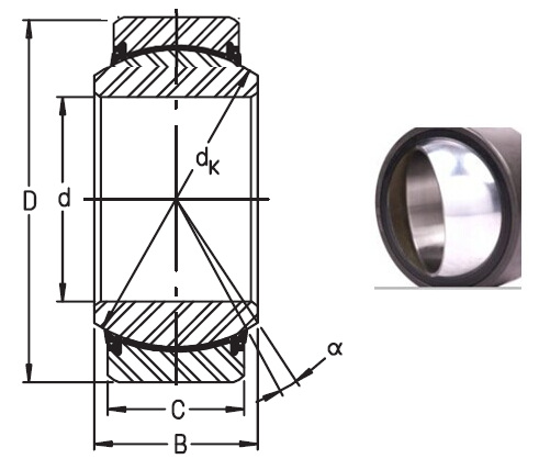 GE90UK2RS bearings Manufacturer, Pictures, Parameters, Price, Inventory status.
