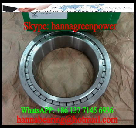 NNC 4980 Full Complement Cylindrical Roller Bearing 400x540x140mm