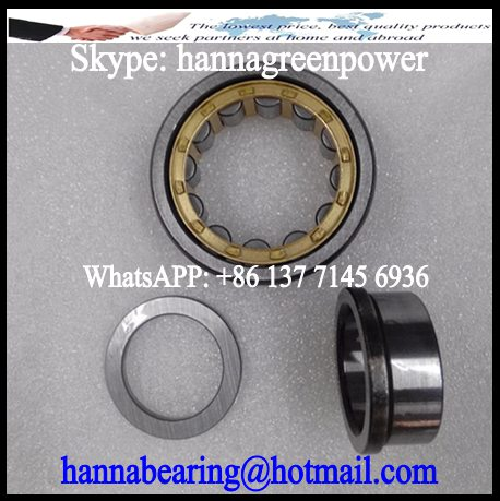 NUP 2206 Hydraulic Pump Spindle Cylindrical Roller Bearing 30x62x20mm