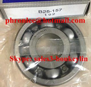 B25-163NXC3 Deep Groove Ball Bearing 25x60x19/27mm