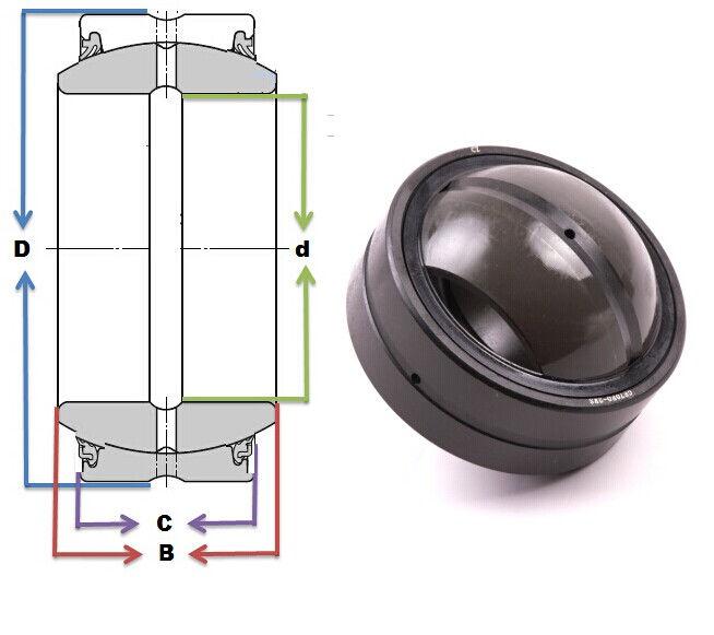 GE 80 ES-2RS bearings Manufacturer, Pictures, Parameters, Price, Inventory status.