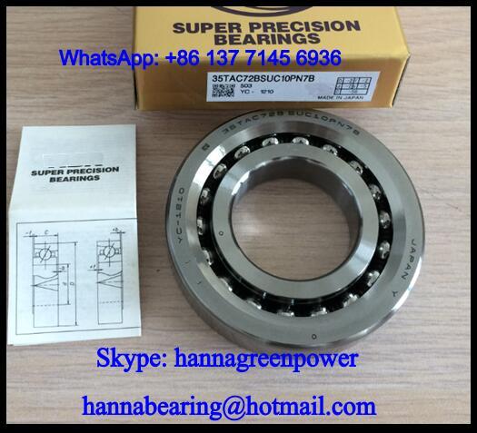 80TAC03AT85SUMPN5D Ball Screw Support Ball Bearing 80x170x39mm
