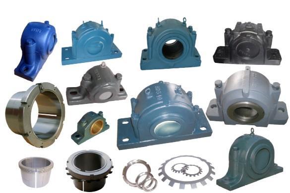 Plummer block SN312 255*120*155 series for mining machine, crusher machine parts plummer block sn305