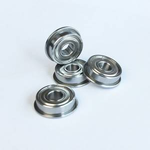 MF115ZZ Flange Bearings 5x11x4 mm Flanged Ball Bearings