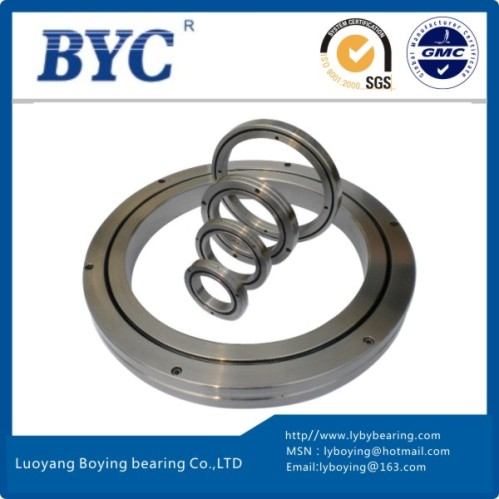 RB15025UUCC0 crossed roller bearing|Percison thin section slewing bearing