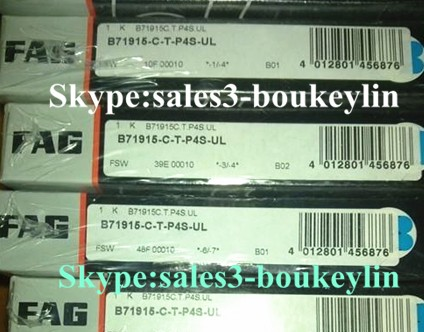 B71915-C-T-P4S Spindle Bearing 75x105x16mm