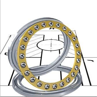 51172 Thrust Ball Bearing